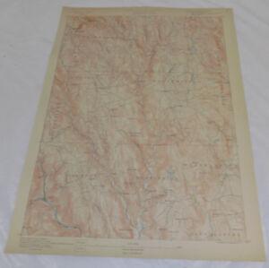 1890 Topo Map of CHESTERFIELD QUADRANGLE, MA, WESTERN MASSACHUSETTS