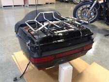 Harley Davidson Tour Pak Vivid Black 2003-2013 FLHX FLHTC FLTR Quick Detach