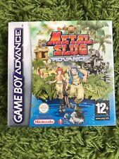 Metal Slug Advance Pal España Nuevo Precintado Game Boy Advance GBA