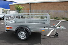 NEW Car trailer caged-cage-mesh 750kg BORO