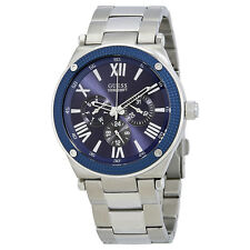Guess Reloj Blue Dial Mens Watch W0246G2