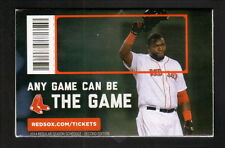 David Ortiz--2014 Boston Red Sox Schedule--Budweiser