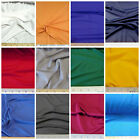 Discount Fabric 4 way Stretch Polyester Lycra Spandex Choose your Color