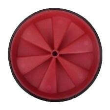 """Roue brouette roue 10"""" Rouge Solide Roue pas plus des perforations brouette UK Made"""