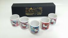 Sanrio Hello Kitty Mt. Fuji Japanese Sake Glass Cup 5pcs set official item