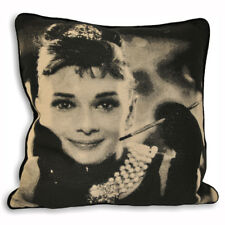 "2 x film stars Marilyn MONROE /& Audrey Hepburn housses de coussin 17 /"" 43 cm"