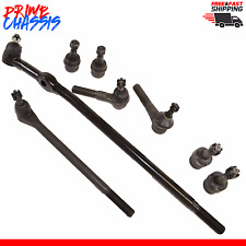 8 PC Ford Bronco Explorer Ranger Center Link Tie Rod Ends Ball Joints 90-97 4WD