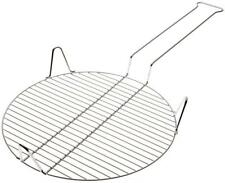 Rome's #65 14 Inch Outdoor Pizza Grill, Chrome Plated Steel Campfire cooking