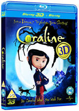 Coraline (3D Edition with 2D Edition) [Blu-ray]