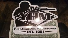 YHM Firearms Sticker Decal Sporting Hunting Shoot Rifle OEM Original