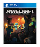 Minecraft Playstation 4 Edition PS4 MINT - 1st Class FAST Delivery