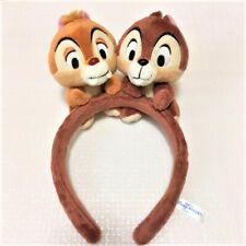 Tokyo Disney Resort Land Sea Headband Chip & Dale Japan limited F/S