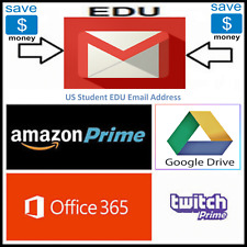 Edu Email 6 Months Amazon Prime Unlimited Google Drive Storage US Student Email