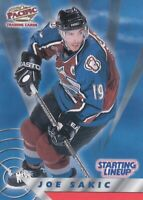 JOE SAKIC NO:2 STARTING LINEUP in PACIFIC 1999-2000                 a