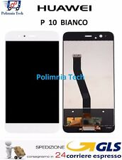 HUAWEI P10 BIANCO - DISPLAY LCD + TOUCH SCREEN - GLS 24h