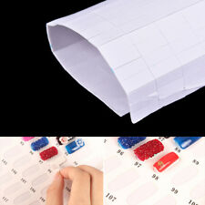 1sheet Sponge Double-sided Adhesive Sticker for Nail Gel Polish Display Card ^G