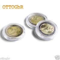 100 Münzkapseln  für 2 Euro 26mm 1 Beutel 100 Stück Kapseln Münzenkapseln