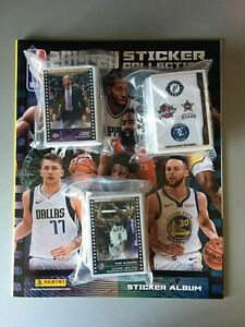 PANINI NBA 2019/20 STICKER ALBUM AND COMPLETE SET OF STICKERS