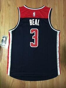 Bradley Beal Jersey Size L Washington Wizards Fanatics Fast Break New (Defect)