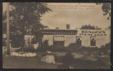 RP Postcard PARRIS ISLAND South Carolina/SC  Hostess House Building 1920's?