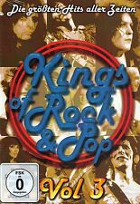 DVD NEU/OVP - Kings Of Rock & Pop - Vol. 3 - Die größten Hits aller Zeiten