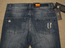 Rock & Republic Size 0 M Berlin Skinny Stretch Destroyed Womens Jeans