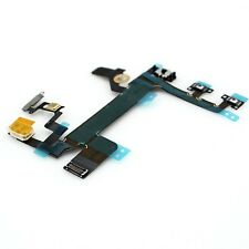 For iPhone 5S Power On/Off Lock Mute & Volume Switch Button Flex Ribbon Cable