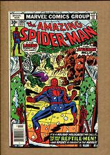 Amazing Spider-Man #166 - The Lizard!  - 1977 (Grade 6.5) WH