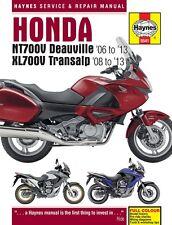 Honda Nt700v Deauville & Xl700v Transalp 2006 - 2013 Haynes Manual 5541 Nuevo