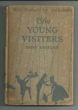 THE YOUNG VISITERS  by Daisy Ashford VG   1919  1st printing