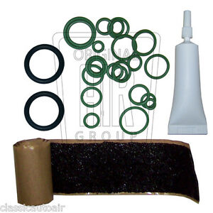 1964-73 Cutlass 442 F85 A/C O-Ring Refrigerant Tape Kit Air Conditioning AC F-85