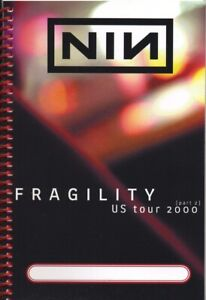 NIN - NINE INCH NAILS - TOUR - ITINERARY - 2000 - PART 2