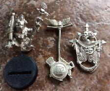 Warhammer Games Workshop Goblin & Standards Metal Miniatures LOT