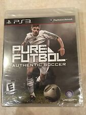 Pure Futbol (Sony PlayStation 3, 2010) PS3 NEW