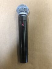 Shure MXW2 Z10 1920 - 1930 MHz with BETA 58A Handheld Working Great!!