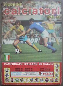 Rare PANINI Calciatori 1972-1973 Sticker Album Figurine 100% COMPLETE COMPLETO