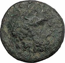 TERMESSOS MAJOR in PISIDIA 51BC Zeus Horse Authentic Ancient Greek Coin i50368