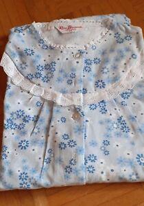 Vintage Damen Nachthemd Langarm Gr. 44
