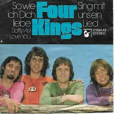 Four Kings come ti amo (Softly as I Love You)/Sing con noi una canzone