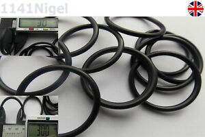 30mm ID x 3mm CS Section O Ring  O-Rings Nitrile 70 Rubber Metric