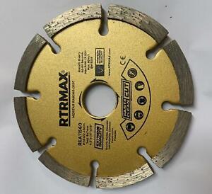"Mortar Raking Disc/ Diamond pointing Raker Disc 115mm 4.5"" angle grinder Blade"