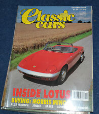 Classic Cars October 1992 Morris Minor, Austin A90 Atlantic, Triumph Gloria