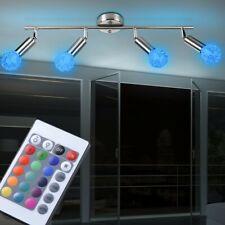 RGB LED 14 W Decken Leuchte Wohnraum Strahler Dimmer Drahtgeflecht Fernbedienung