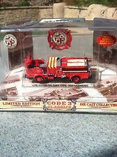 LIMITED EDITION Code 3 LAFD Comp Set NIB  24-PIECE ER Fire Vehicles Collectible!