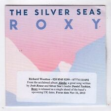 (FY732) The Silver Seas, Roxy - 2013 DJ CD