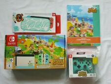 Animal Crossing New Horizons: Limited Edition Nintendo Switch Console BUNDLE!!!