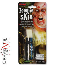 Liquid Latex Zombie Fake Skin Flesh Face Paint Halloween Face Make Up Adhesive