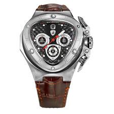 eb7e630a9b9a Tonino Lamborghini Spyder 8952 de Plata Cronógrafo Reloj Automático