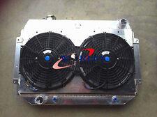 3 ROW HOLDEN HQ HJ HX HZ 253 & 308 V8 Aluminum Radiator+ Shroud Fan