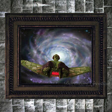 Klingon Assassins Bird Of Prey - Star Trek Fan Art Print - Darkstars Creation